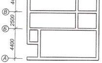 Планирование ленточного фундамента. Составление чертежа.